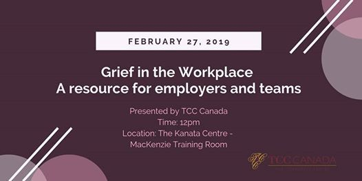 TCC Canada Presents Grief in the Workplace