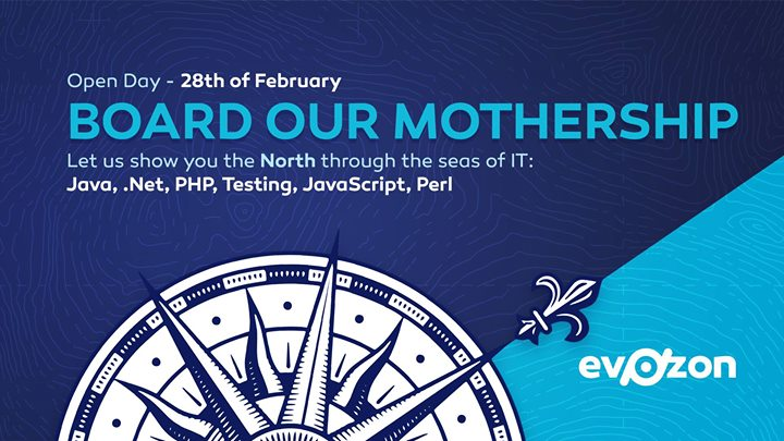 Board Our Mothership Open Day 2018