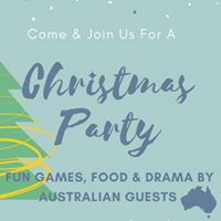 Christmas Party with Australian Guests