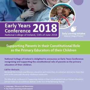Early Years Conference 2018