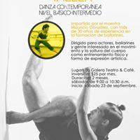 Taller de danza contempornea nivel bsico-intermedio
