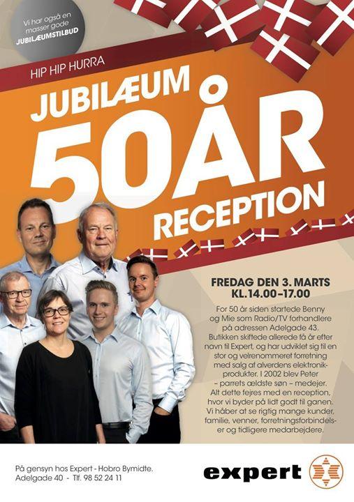 expert års Expert Hobro  50 års jubilæum | Hobro expert års