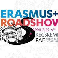 Egyetemi Roadshow Kecskemt Lss vilgot Erasmus sztndjjal