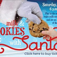 Milk &amp Cookies With Santa