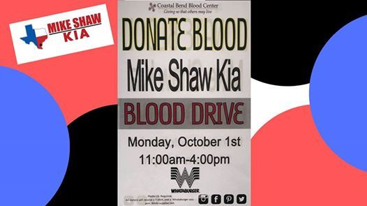 Mike Shaw Kia Blood Drive