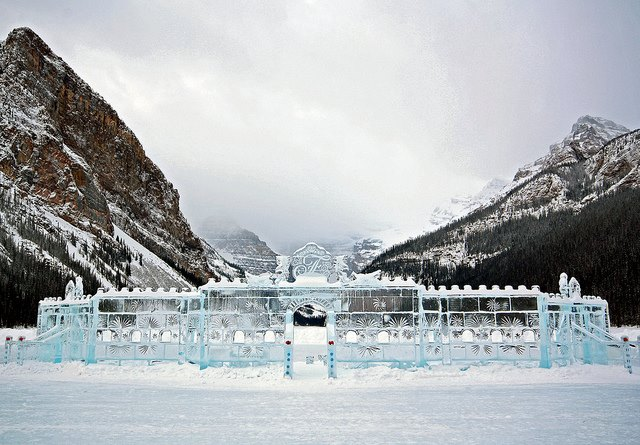 Lake Louise Ice Festival and Banff Day Trip