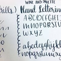 Calligraphy Lettering Class for Beginners