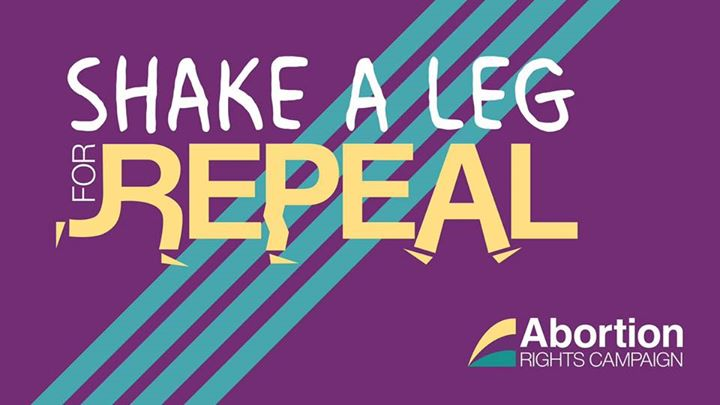 Shake a leg for Repeal - Sandymount