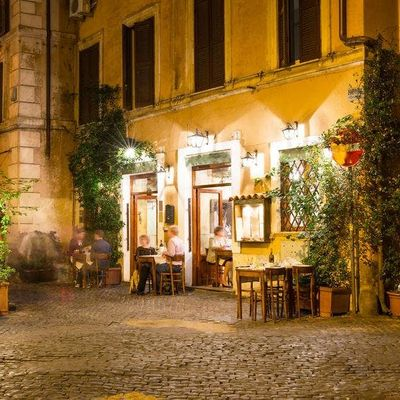 Dinner in Rome with Sofia