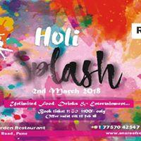 Holi Splash Colors of life