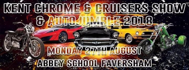 Kent Chrome & Cruisers Vehicle Show and Autojumble 2018