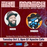 ATL Digital Artist Battle October