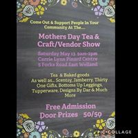 Mothers Day Craft Show &amp Tea