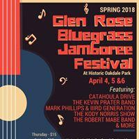 The Kevin Prater Band at Glen Rose Bluegrass Jamboree Festival