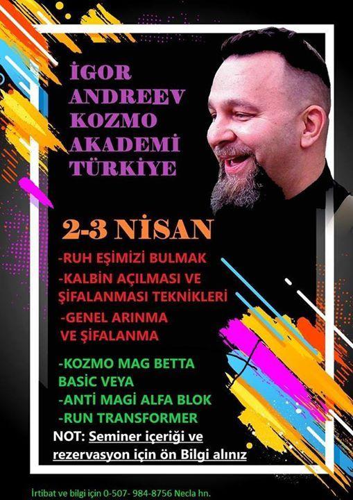 gor Andreev Ankara Semineri