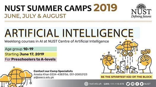 NUST Summer Camps 2019