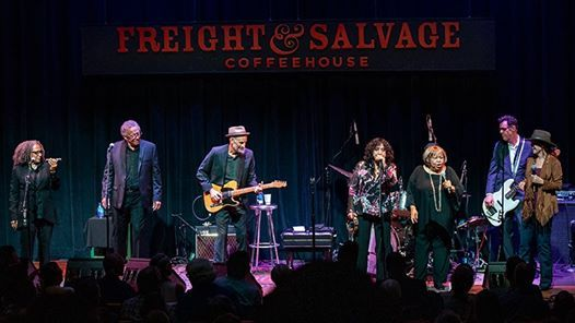 Mary Ford with Danny Carnahan at Freight & Salvage Coffeehouse