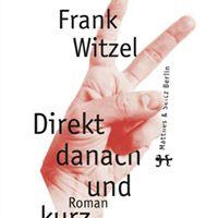 Wiesbadener Literaturtage Frank Witzel und Uwe Dierksen