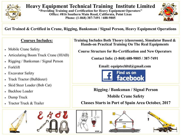 Applied Rigging Practices, Banksman / Signaler, Crane Operation at ...