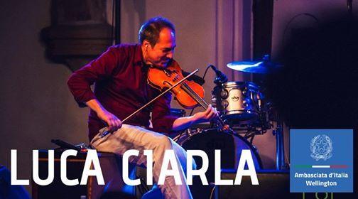 Christchurch Folk Music Club - Luca Ciarla solOrkestra
