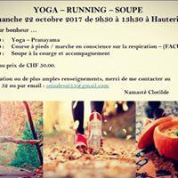 Yoga - Running - Soupe