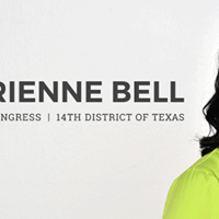 Block walking for Adrienne Bell for Congress TX-14