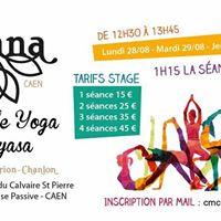 Stage Yoga Vinyasa ... CLAIRE