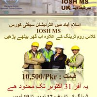 IOSH MS October Offer with Only Rs.10500 - Valid till 31st Oct