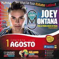 Joey Montana LIVE at Milano - PickyTour
