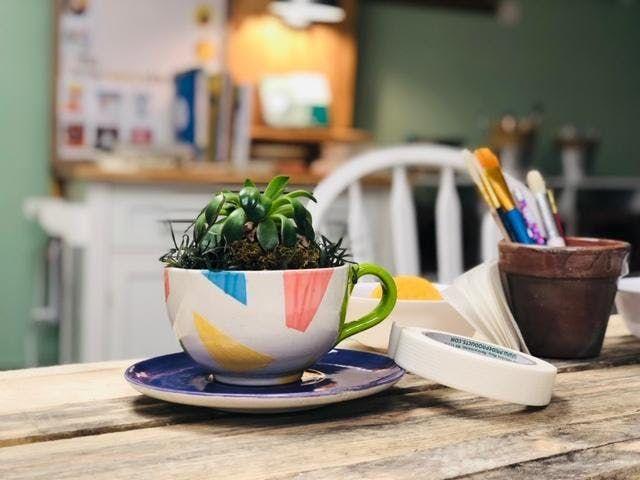 Paint & Plant Workshop