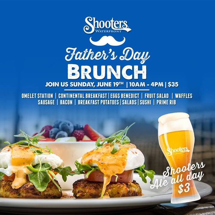Fathers Day Brunch At Shooters Waterfront, Fort Lauderdale