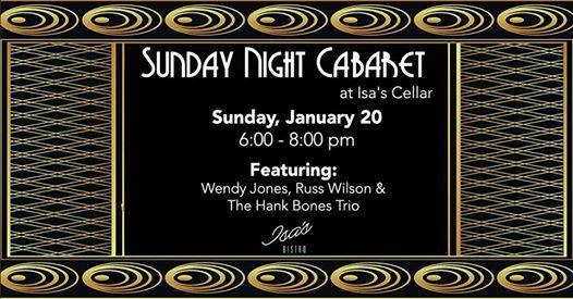 Sunday Night Cabaret