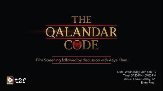 Film Screening The Qalandar Code
