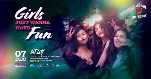Girls Just Wanna Have Fun - Ladies Night