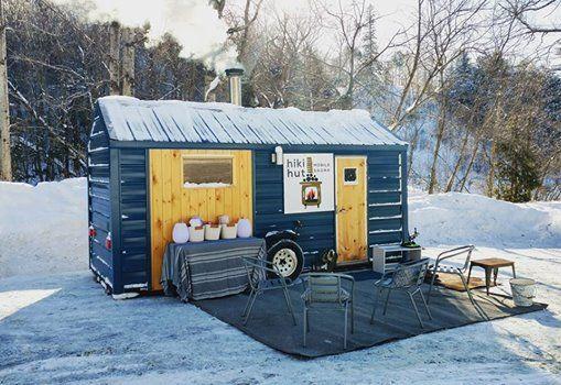 Sauna At Lester ParkAmity Ski Chalet