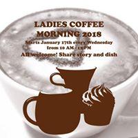 Ladies Coffee morning 2018
