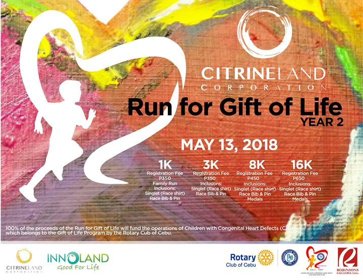 Run for Gift of Life - Year 2