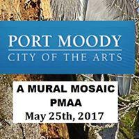 Port Moody Art Association - A Mural Mosaic Opening