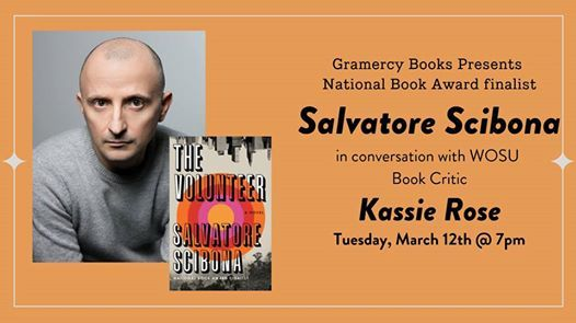 Acclaimed Author Salvatore Scibona with Kassie Rose