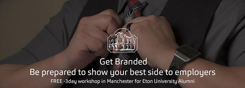 Get Branded - Free 3-day Workshop in Manchester UK (Alumni only)