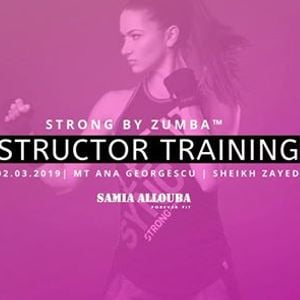 STRONG by Zumba Instructor Training in Sheikh Zayed