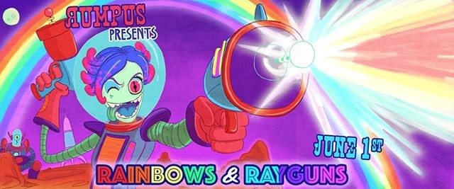 Rumpus Rainbows & Rayguns SOLD OUT