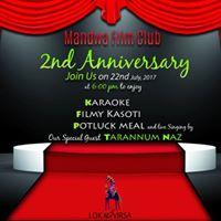 Celebrating 2 years of Mandwa Film Club on 22nd July at 6Pm