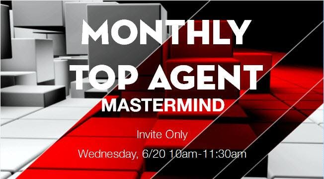Monthly Top Agent Mastermind