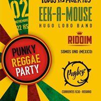 EEK - A - MOUSE Todos Tus Muertos Hugo Lobo band Riddim y mas