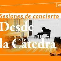 Concierto  Sonatas y partitas de J. S. Bach