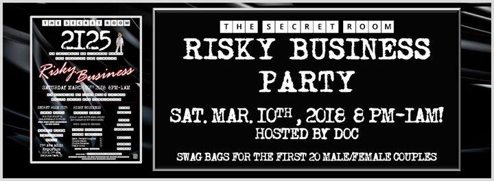 Secret Room 2125 Risky Business Party At 15th Ave Adult Emporium Melrose Park