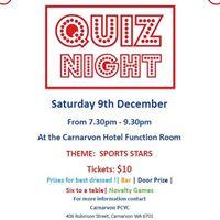 Carnarvon PCYC Quiz Night