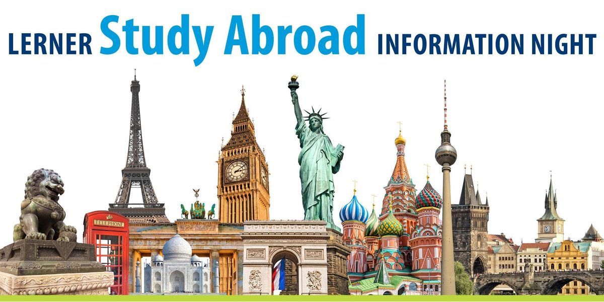 Lerner Study Abroad Info Night