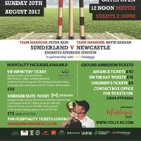 Colly Testimonial - Sunderland v Newcastle Derby 2017